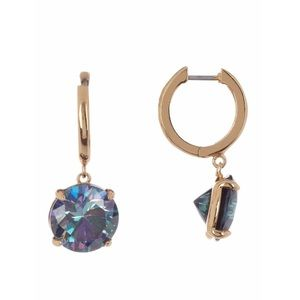 bright idea CZ drop earrings